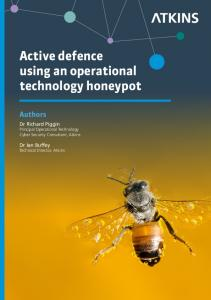 Active defence using an operational technology honeypot