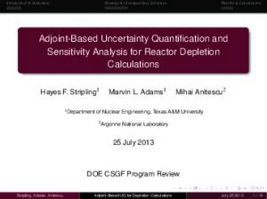 Adjoint-Based Uncertainty Quantification and Sensitivity Analysis for Reactor Depletion Calculations