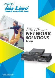 AIRLIVE SMART NETWORK SOLUTIONS. Catalog
