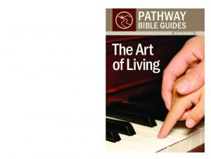 bible guides The Art of Living