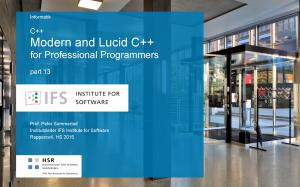 C++ Modern and Lucid C++ for Professional Programmers