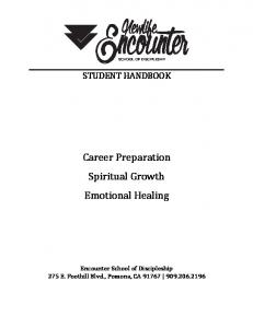 Career Preparation Spiritual Growth Emotional Healing