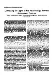 Computing the Types of the Relationships between Autonomous Systems