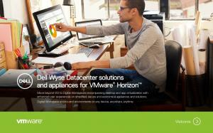 Dell Wyse Datacenter solutions and appliances for VMware Horizon