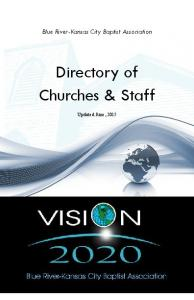 Directory of Churches & Staff