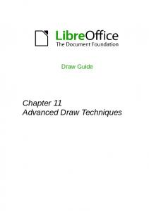 Draw Guide. Chapter 11 Advanced Draw Techniques