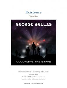 Existence. Guitar Score. From the album Colonizing The Stars