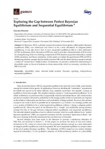 Exploring the Gap between Perfect Bayesian Equilibrium and Sequential Equilibrium