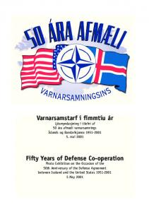 Fifty Years of Defense Co-operation