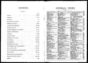GENERAL INDEX. CONTENTS. INDICES - xlix.-11. ALMANAC - lit. .MUNICIPAL CITY STREETS DIRECTORY SUBURBAN DIRECTORY