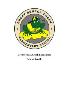 Great Seneca Creek Elementary School Profile