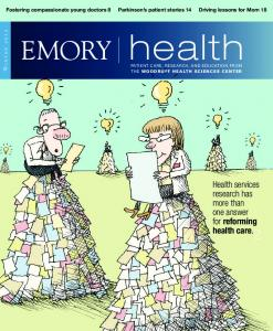 Health services research has more than one answer for reforming health care. 2