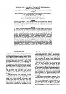 Initiating Heavy-atom Based Phasing by Multi-Dimensional Molecular Replacement Synopsis Abstract 1. INTRODUCTION