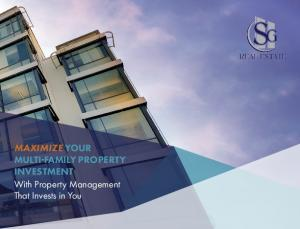 MAXIMIZE YOUR MULTI-FAMILY PROPERTY INVESTMENT With Property Management That Invests in You