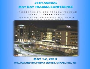 MAY DAY TRAUMA CONFERENCE