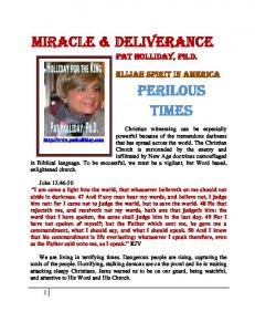 Miracle & Deliverance