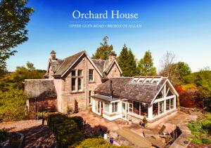 Orchard House. Upper Glen road BridGe Of allan