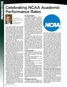 Performance Rates. By Michael L. Kasavana, Ph.D., CHTP NAMA Professor in Hospitality Business