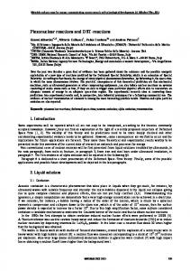 Piezonuclear reactions and DST-reactions