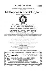Prince William County Fairgrounds Rt. 234, 2 Miles South of Manassas, VA Dumfries Rd., Manassas, VA Saturday, May 19, 2018