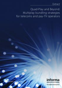 Quad-Play and Beyond: Multiplay bundling strategies for telecoms and pay-tv operators