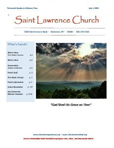 Saint Lawrence Church. What s Inside!