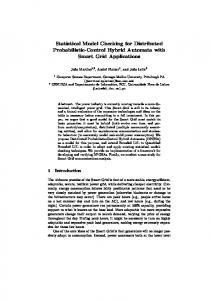 Statistical Model Checking for Distributed Probabilistic-Control Hybrid Automata with Smart Grid Applications