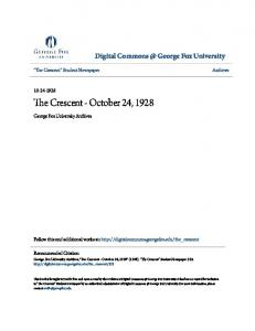 The Crescent - October 24, 1928