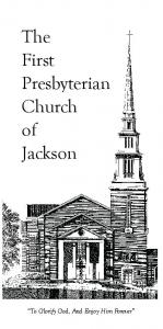The First Presbyterian Church of Jackson