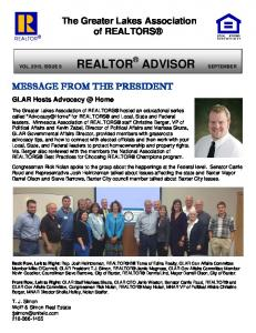 The Greater Lakes Association of REALTORS