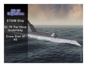 versus the cost to procure and maintain it - will yield dramatic longterm savings for the Navy