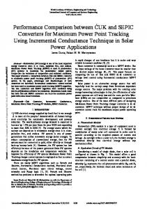 World Academy of Science, Engineering and Technology International Journal of Computer and Systems Engineering Vol:7, No:12, 2013