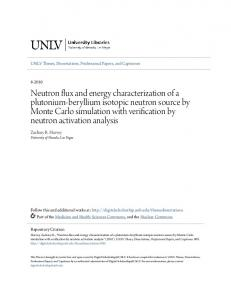 Zachary R. Harvey University of Nevada, Las Vegas. UNLV Theses, Dissertations, Professional Papers, and Capstones